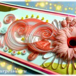 Квиллинг красивые открытки