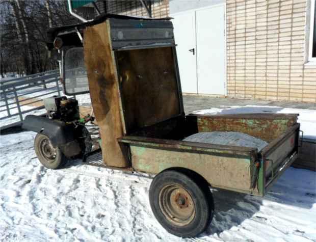 самодельный грузовик фото
