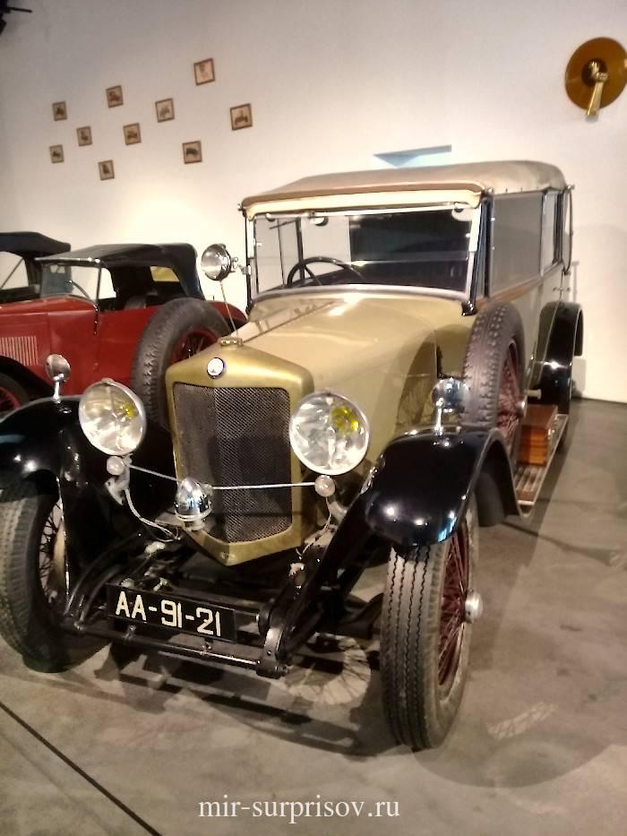 BALLOT Francia 1929 год