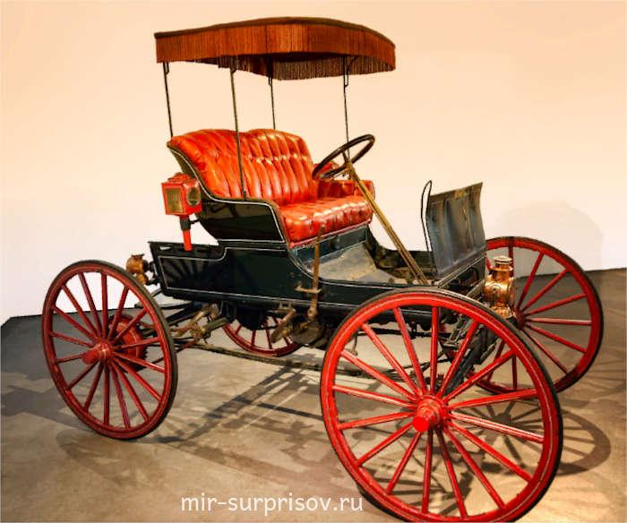 Двухцилиндровый американский Виннер Winner 1898 года