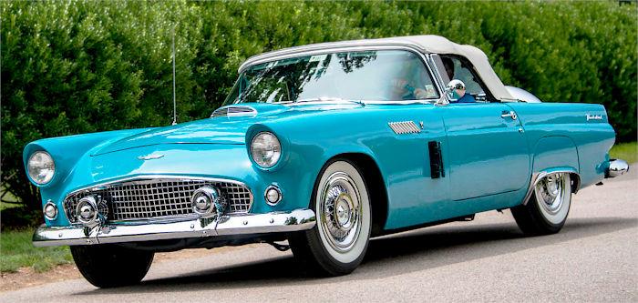 Ford Thunderbird 1956 год