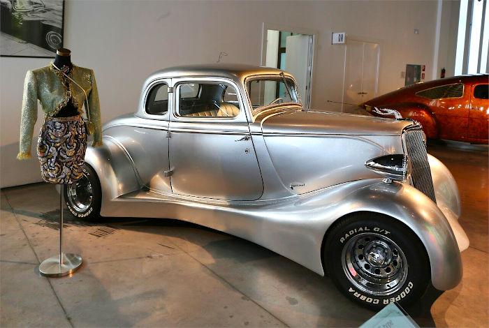 форд 1934 года серебряная рука
