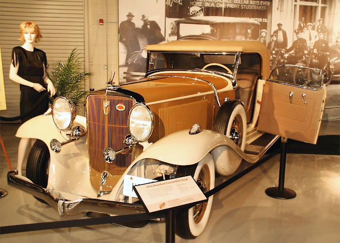 Studebaker president coupe convertible 1932