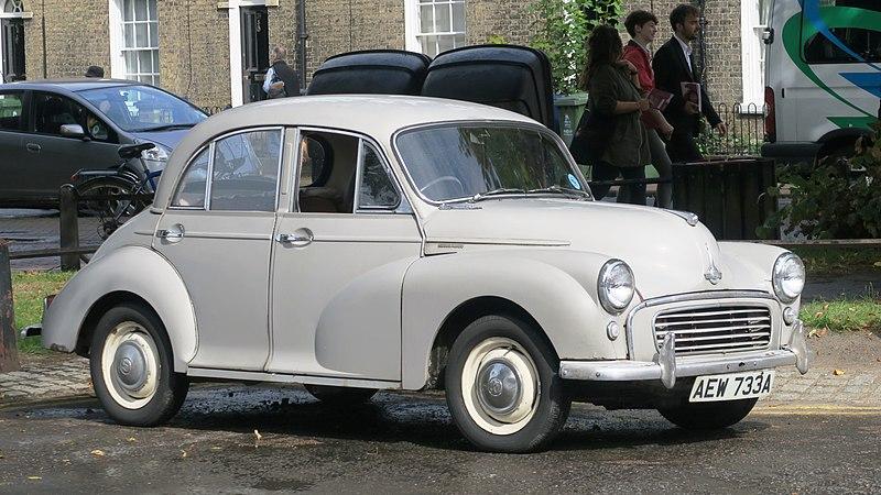 Morris Minor 1000 February 1963 948cc