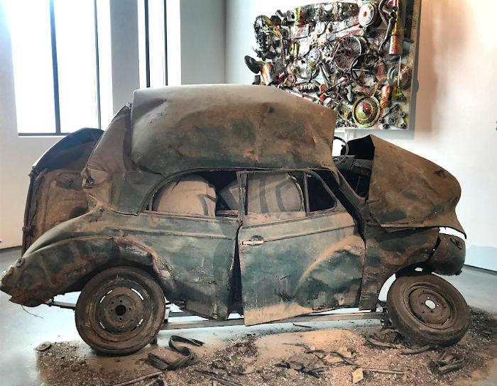 Morris Minor 1956 crash